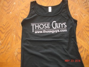 Ladies Tank in Black